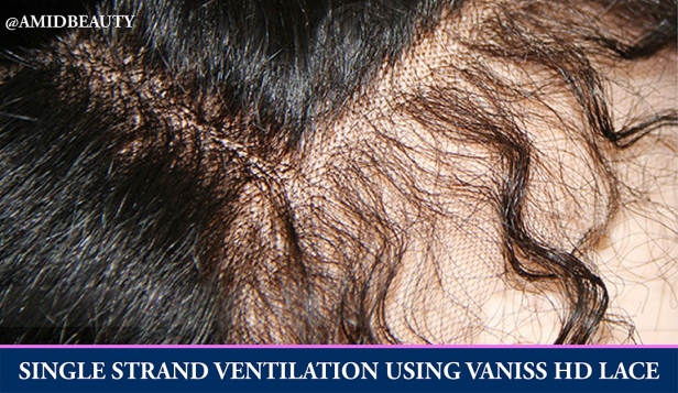 Single Strand Hair Ventilation