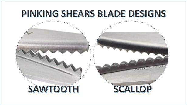 Pinking Shears Blade Designs