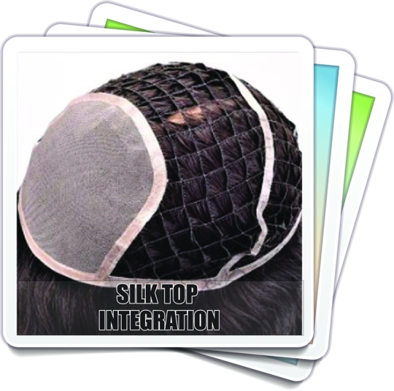 Silk Top, Hair Integration, System, unit, topper, wig, wigs, wigmaker, wig making, supplies, hair extensions, honey comb, fish net, pull through, thinning hair, fuller hair, hair loss, women