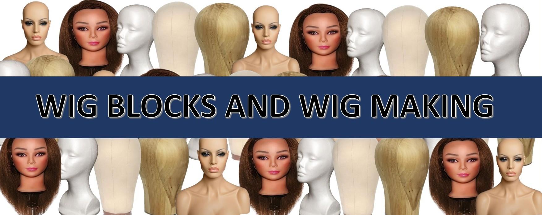 Wig Blocks and Wig Making